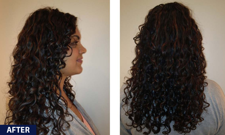 Curl Bar Before And After Relaxers How To Minimise The